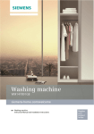 Siemens WM14Y891GB washing machine