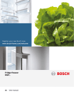 Bosch KGV39VW32G fridge-freezer