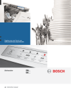 Bosch SMS58E22GB dishwasher