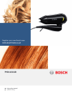 Bosch PHD1151GB hair dryer