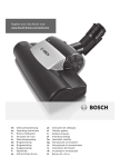 Bosch BGS5PET2GB vacuum cleaner