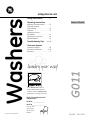 GE GTAS8655DMC washing machine