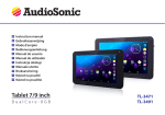 AudioSonic Tablet 7
