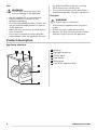 Zanussi ZWF91483W washing machine