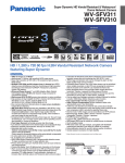 Panasonic WV-SFV310 surveillance camera