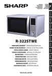 Sharp R-322STWE microwave