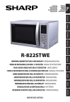 Sharp R-822STWE microwave