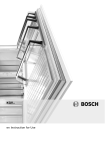 Bosch KGV36VE32S fridge-freezer