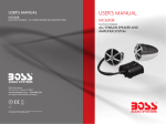 Boss Audio Systems MC600B car speaker