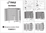 Pyle Microphone Isolation Shield