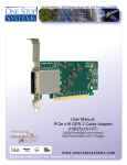 One Stop Systems OSS-PCIE-HIB25-X16-H