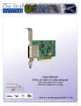 One Stop Systems OSS-PCIE-HIB25-X8-H
