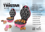 Tristar Cake pop and cup cake maker