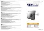 Newstar FPMA-W950 flat panel wall mount