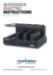 Manhattan QuickDock Quattro