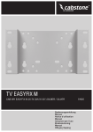 Wentronic Cabstone TV EasyFix M