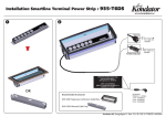 Kondator 935-T6DS power distribution unit PDU