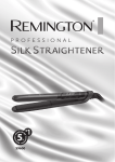 Remington S9600 hair straightener