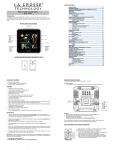 La Crosse Technology 308-146 weather station