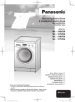 Panasonic NA-127VB4 washing machine