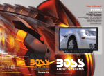Boss Audio Systems BV8963 car media receiver