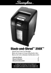 Acco 1757576 paper shredder