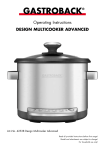 Gastroback Design Multicooker Advanced