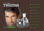 Tristar 6 in 1 Grooming kit