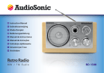 AudioSonic RD-1540