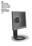 3M MS110MB flat panel desk mount