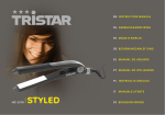 Tristar HD-2378 hair straightener