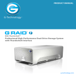 G-Technology G-RAID Thunderbolt