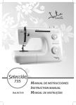JATA MC735N sewing machine