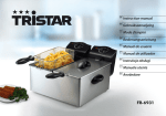 Tristar FR-6931 deep fryer