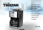 Tristar KZ-1228 coffee maker