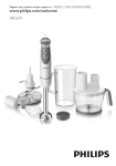 Philips Viva Collection HR1619/00 blender