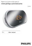 Philips Clock Radio AJ1000