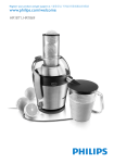 Philips Avance Collection Juicer HR1869/30