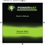 Powermat PMR-NDS1-EU game console accessory