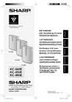 Sharp KC-860E air purifier