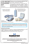Manhattan 404211 equipment cleansing kit