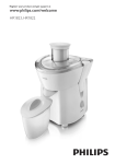 Philips Daily Collection Juicer HR1823/70