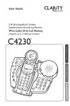 Clarity C4230 telephone