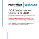 PocketWizard AC 3