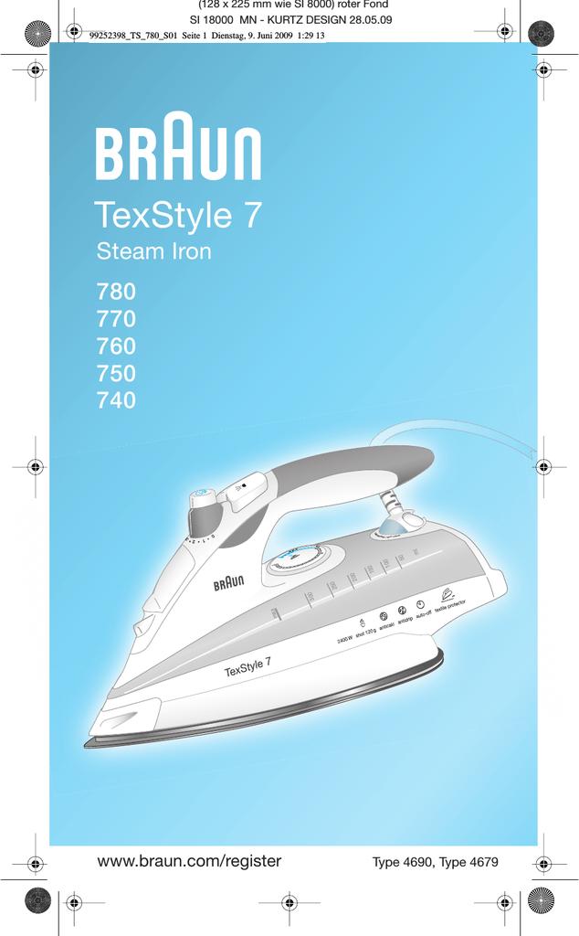 Braun TexStyle 7 740