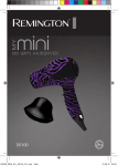 Remington D0100 hair dryer