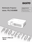 Sanyo PLC-XU4000 data projector