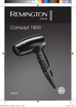 Remington D5000 hair dryer