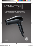 Remington D5005 hair dryer