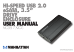 Manhattan 709033 storage enclosure